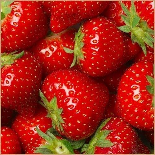 strawberry pulp balsam vinegar