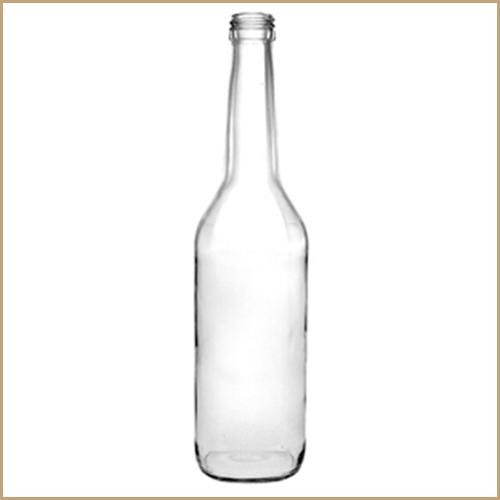 350ml glass bottle - Geradhals