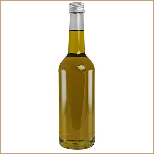 500ml glass bottle filled - Geradhals