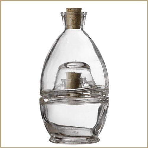 100ml Glass Bottle Set - Fred & Ginger