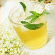 elderflower, lime & mint balsam vinegar